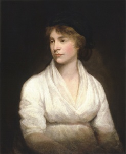 """Mary Wollstonecraft by John Opie (c. 1797)"" by John Opie - National Portrait Gallery: NPG 1237While Commons policy accepts the use of this media, one or more third parties have made copyright claims against Wikimedia Commons in relation to the work from which this is sourced or a purely mechanical reproduction thereof. This may be due to recognition of the ""sweat of the brow"" doctrine, allowing works to be eligible for protection through skill and labour, and not purely by originality as is the case in the United States (where this website is hosted). These claims may or may not be valid in all jurisdictions.As such, use of this image in the jurisdiction of the claimant or other countries may be regarded as copyright infringement. Please see Commons:When to use the PD-Art tag for more information.See User:Dcoetzee/NPG legal threat for more information.This tag does not indicate the copyright status of the attached work. A normal copyright tag is still required. See Commons:Licensing for more information.English 