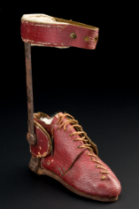 Lord Byron's orthopaedic boot, England, 1781-1810