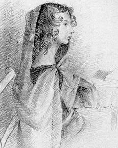 Anne Brontë Drawn by Charlotte