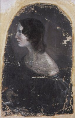 Disputed portrait by her brother Branwell; sources are in disagreement over whether this image is of Emily or Anne