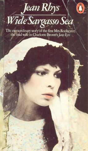 This is the front cover of Jean Rhys's piece of literary revisionist fiction which gives Bertha much need voice